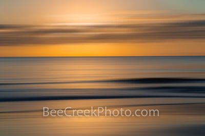 Golden Glow Sunrise Abstract