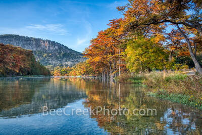 Frio River, fall, Garner State Park, hill country, autumn, season, fall, Garner, bald cypress, golden, color, trees, frio, river, scenic, texas scenery, pictures of texas, fall colors,