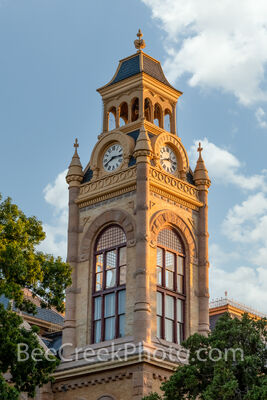 llano county courthouse, courthouse, texas courthouses, texas, county seat, llano, archtiectural, romanesque revival, vertical,