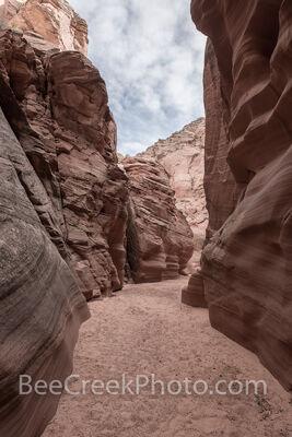 Path Through Canyon X
