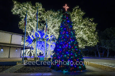 Johnson City Christmas, christmas lights, Pedernales Electric, holiday lights, texas christmas, texas hill country christmas, christmas trees, hill country christmas,
