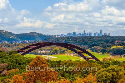 Pennybacker Bridge Autumn