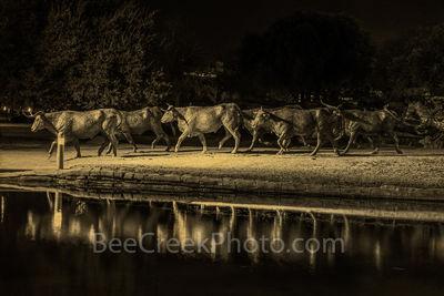 Pioneer Park Longhorns Sepia