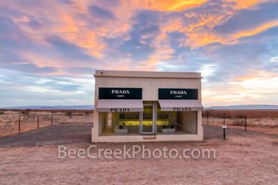 prada marfa sunset, west texas,  prada, prada marfa, alpine, sunset, sunrise, landscape, texas. marfa prada, art, art exhibit, texas scenery, elmgreen and dragset, artist, art exhibit, texas scenery,
