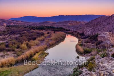 Rio Grande River Dusk