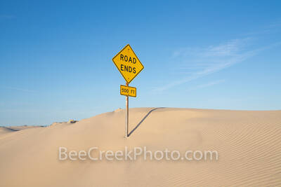 South Padre island, road sign, road ends, sand dune, beach, road, nature, coast, coastal, beach sign, sand,