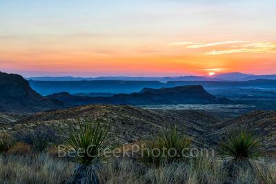 Santa Elena Canyon Sunset