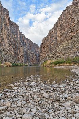 Santa Elena Canyon Vertical