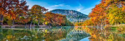 Scenic Fall Texas Hill Country Pano