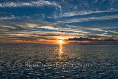 South Padre Bay Sunset