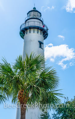 St. Simon Lighthouse Vertical