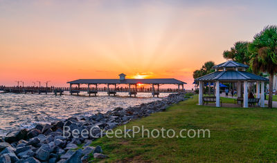 St. Simon Pier, sunset, gazebo, sun set, waters, east coast, golden isles barrier island, beach, tourist,