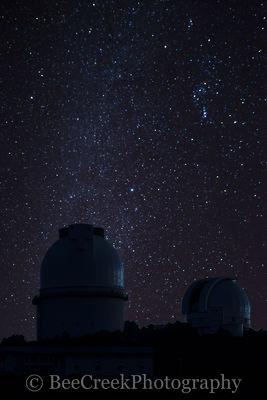 Stars Over Telescope Dome