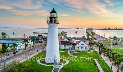 Sunrise at Port Isabel Lighthouse
