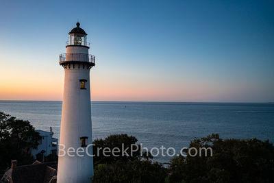 Sunrise at St. Simon Lighthouse