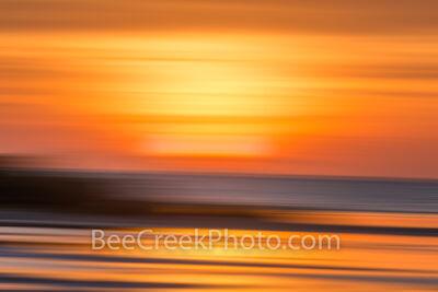 sunset, minimalist style, abstract, minimalist, mimimual,  flats, beach, ocean, waves, sunrise, beach, gulf, orange, golden, blue, yellow, pastel, pastels, surreal, minimal, minimalist,  impressionist