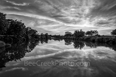 Texas Hill Country BW