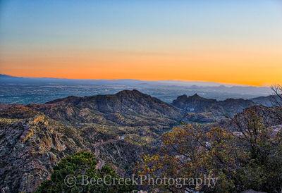 Tucson Sunset Landscape