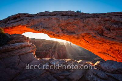 View 0f Mesa Arch