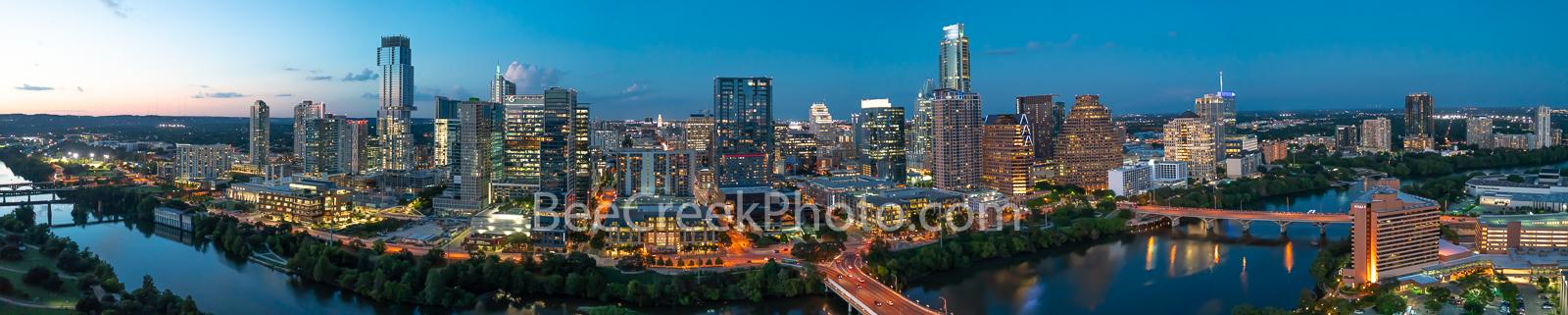 Austin skyline, Aerial, Skyline, Austin aerial skyline, cityscape, downtown, jingle, austonian, google, lady bird lake, town lake, vic mattis park, auditorium shores, first street bridge, pano, panora, photo