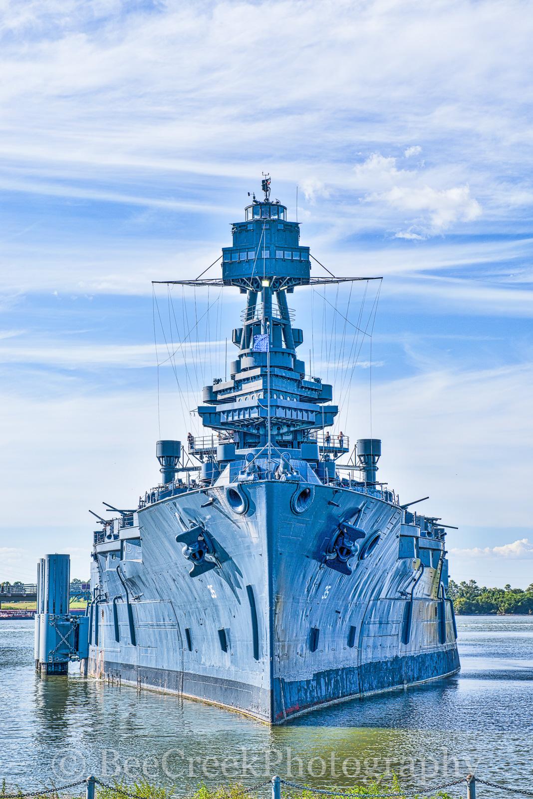 Battleship Texas, WWW1, WWW2, gun, historic, landmark, museum, ship channel, wars, photo