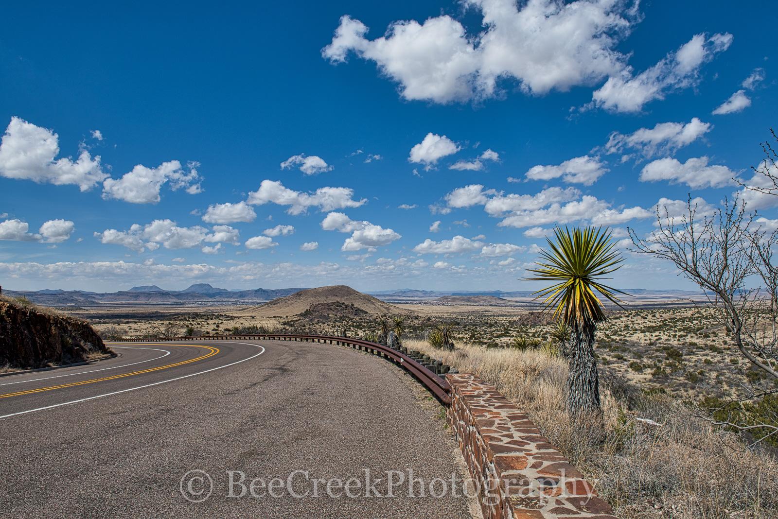 Alpine, Texas, west texas, blue, clouds, landscape, , photo