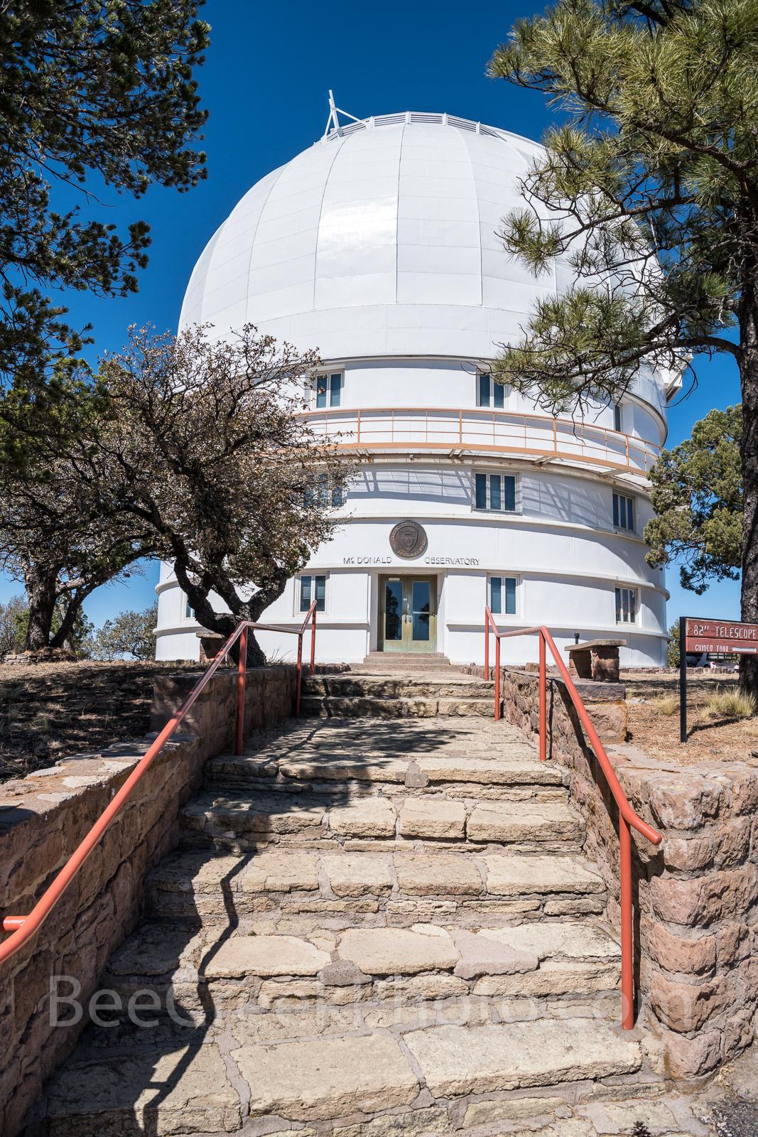 Otto Struve Telescope, Mount Locke, Mt Locke, Davis Mountains, Fort Davis, UT, Mcdonald observatory,  , photo
