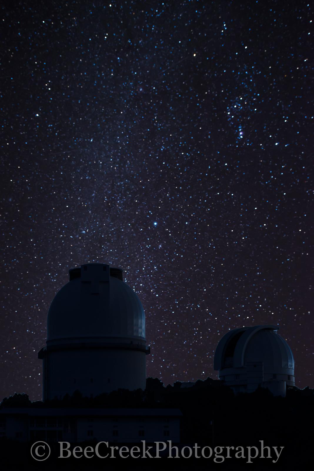 Stars, night, telescape dome, HET, observatory, astronomical, Davis mountains, far west Texas, mcdonald observatory, night sky, dark skies,  gallaxy, Fort Davis, west texas, , photo