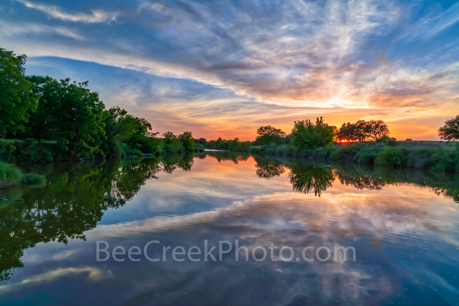 Texas Hill Country Sunset, Texas Hill country, sunset, Pedernales river, landscape, water, river, trees, rurals, Colorado river, centrral texas, hill country, Texas. rural,LBJ Ranch, J, photo