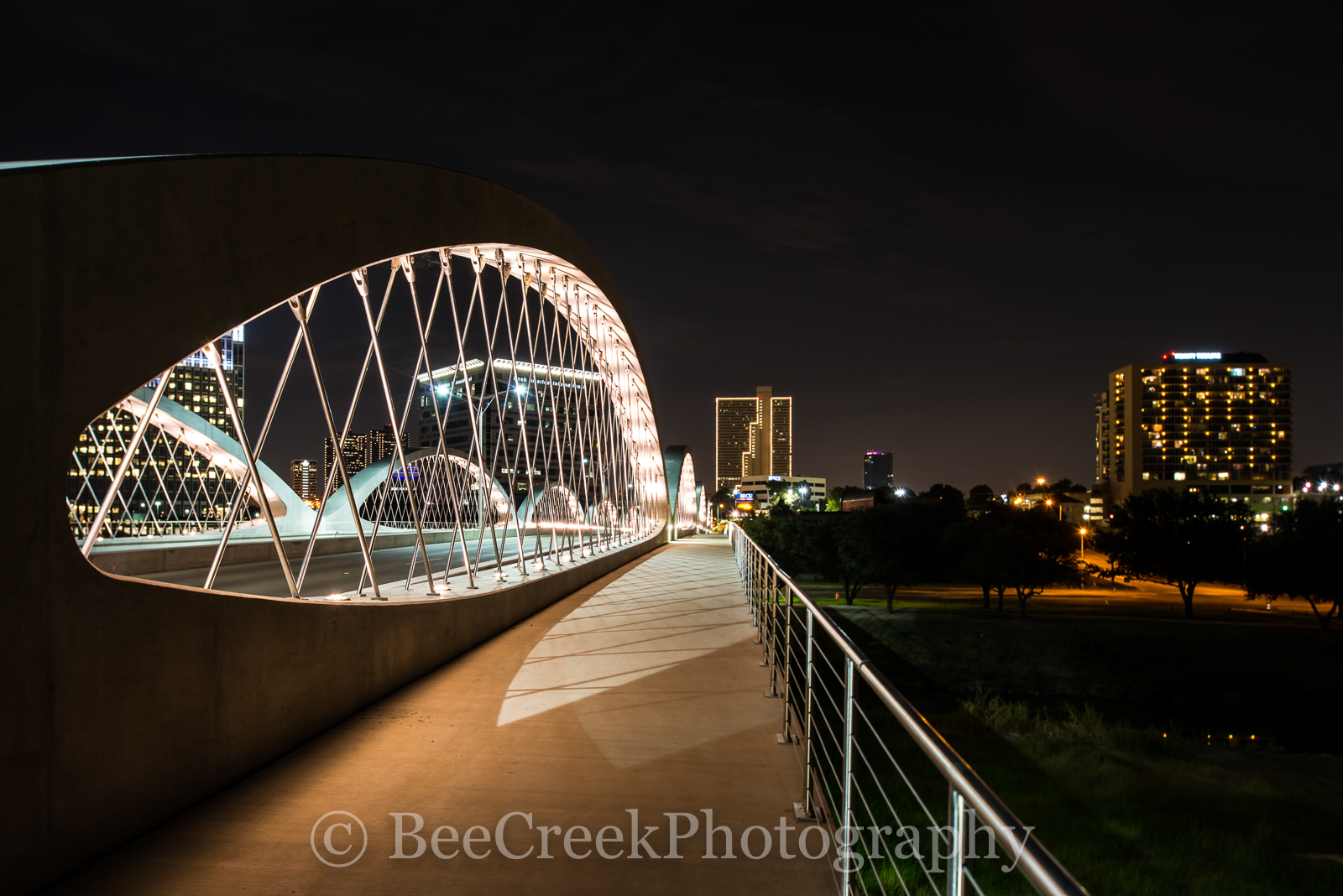 Fort Worth, cityscapes, Fort Worth skylines, Fort worth photos, Seventh Street Bridge, Fort Worth, architecture, city, downtown, fort worth images, fortt worth pictures, images from ft worth, photos , photo