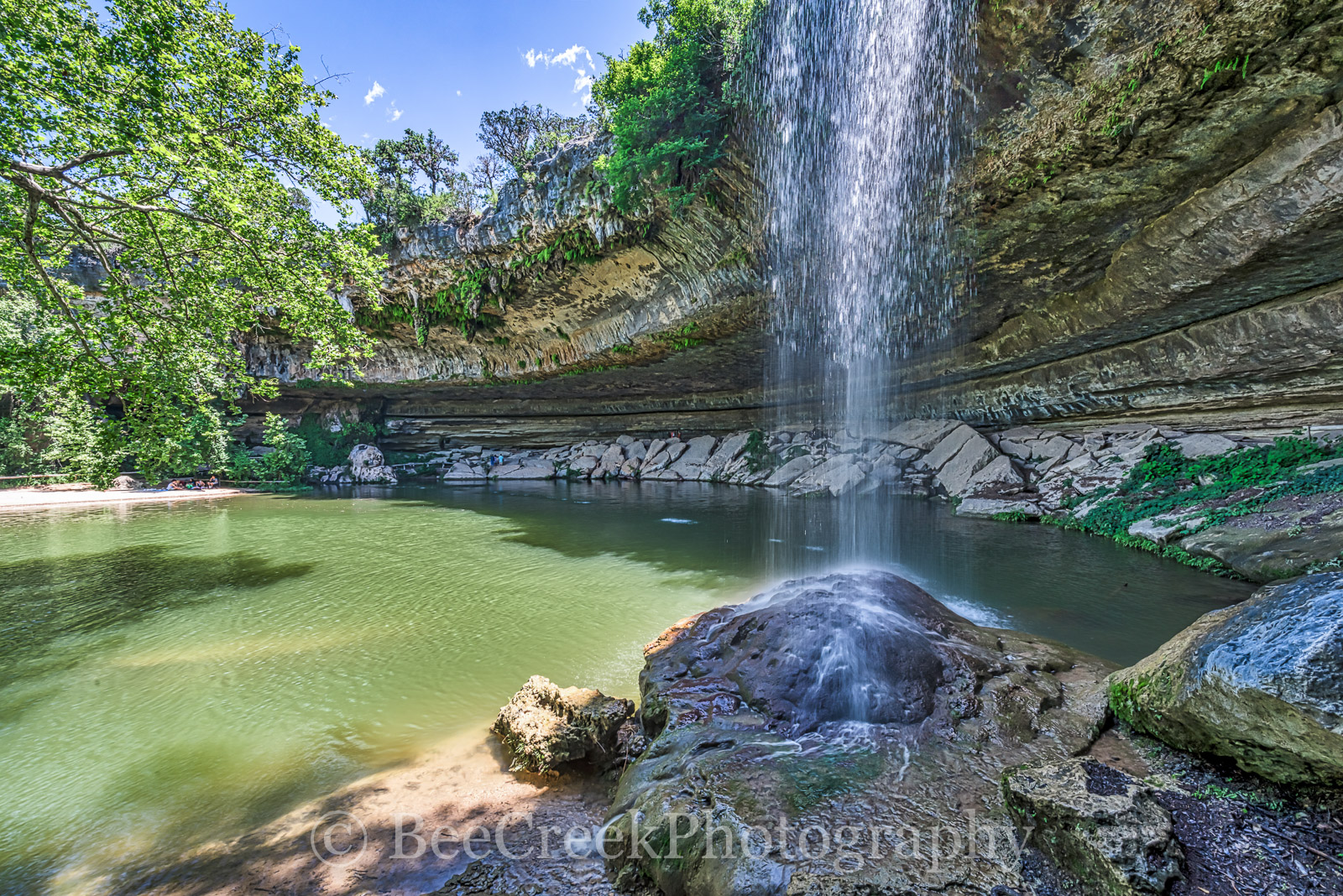 Hamilton Pool, natural pool, rockscape, pool, natural, waterfall, travis county, cave, natural area, austin tx, clear waters of hamilton pool, cliff diving, near austin, watering hole, Balcones Canyon, photo