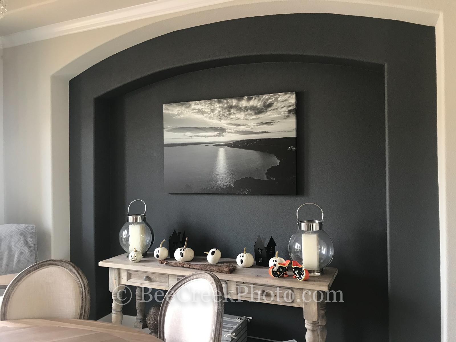 canvas print, client instal, photo