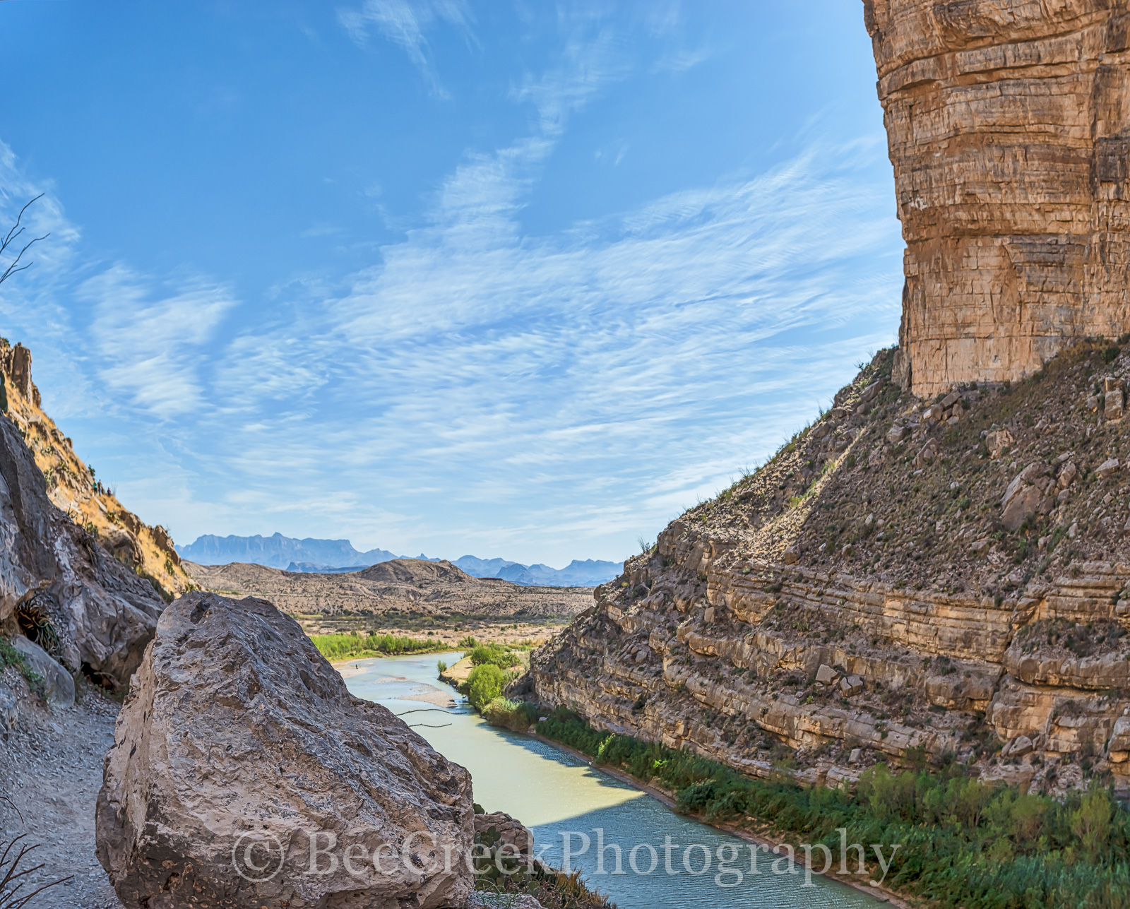 Mountains, Santa Elena Canyons, boulder, pano, panorama, rio grande river landscape, rock, photo