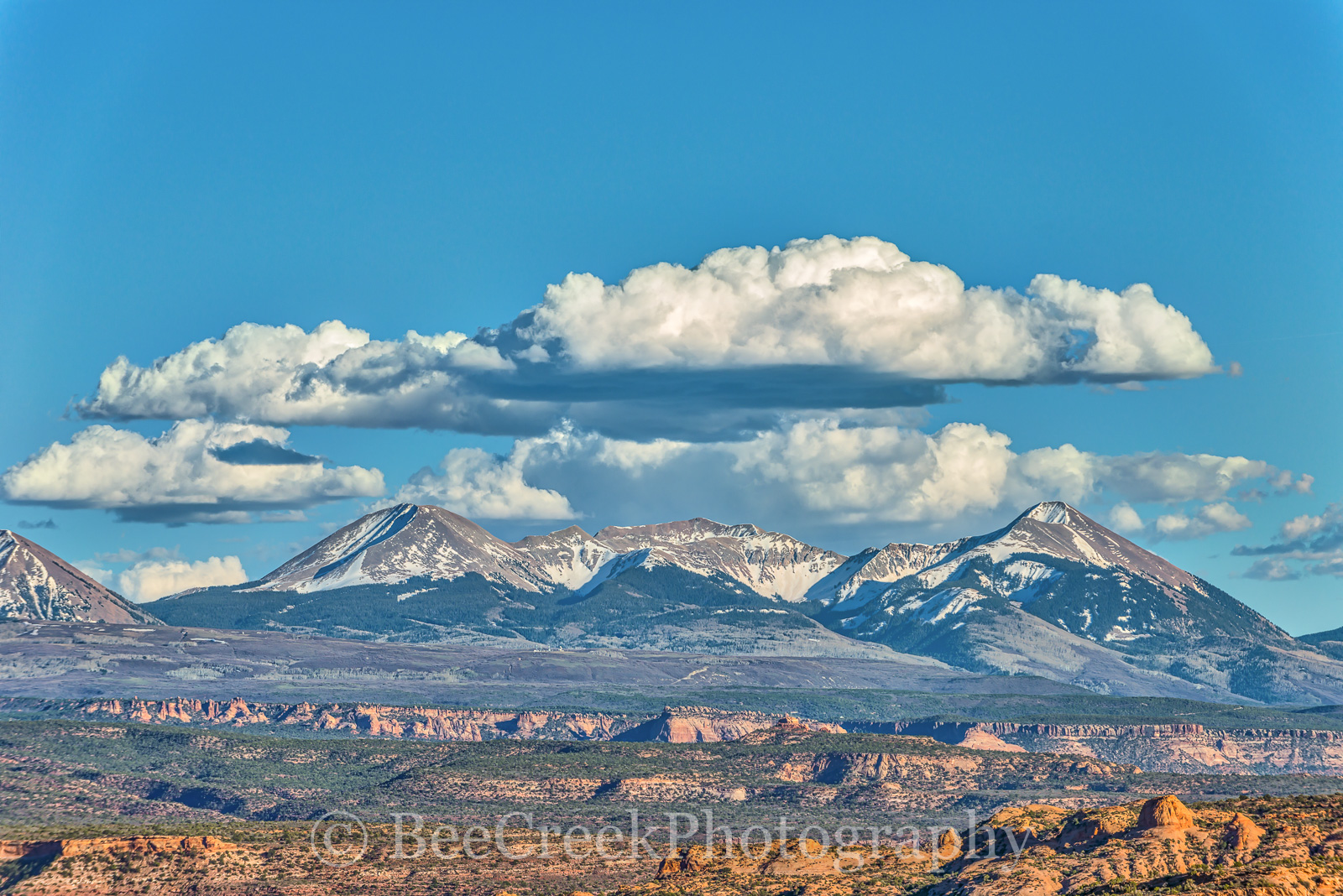 Fine Art photo of La Sal Mountains, La Sal Mountains Utal, images from Archer National Park, images of La Sal Mountain, la sal mountain, photo of La Sal Mountains, pictures of La Sal Mountain, photo