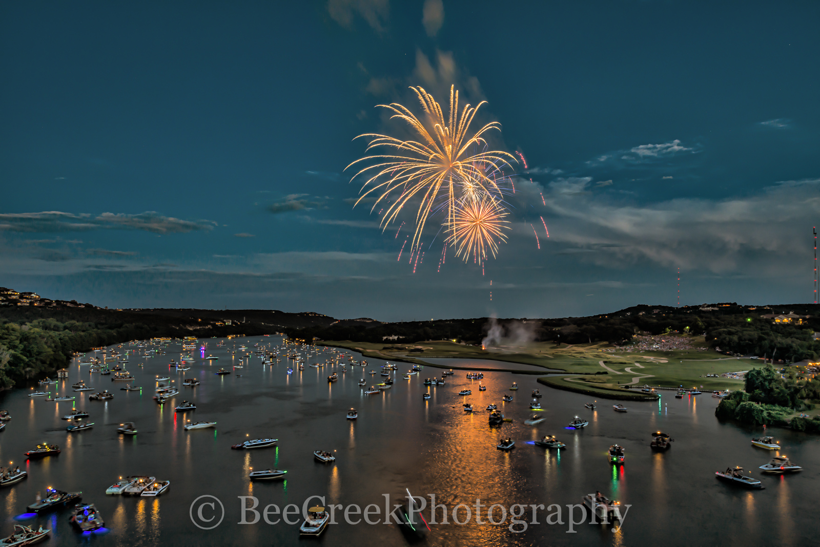 360 bridge, 360 bridge photo, 360 bridge photos, Austin, Austin 360 Bridge, Fireworks in austin, Lake Austin, Pennybacker bridge, River, austin country clubs fireworks, austin fireworks, austin images, photo