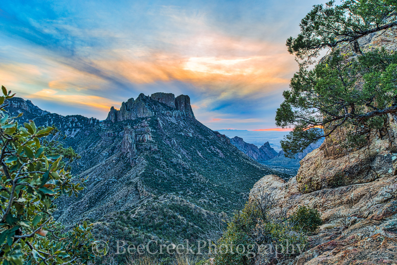 Big Bend National Park, Leisure, Lost mine trail, Mountains, colorful skys, lifestyle, scenic, sunset, texas, tourism, travel, vacation, vista, photo
