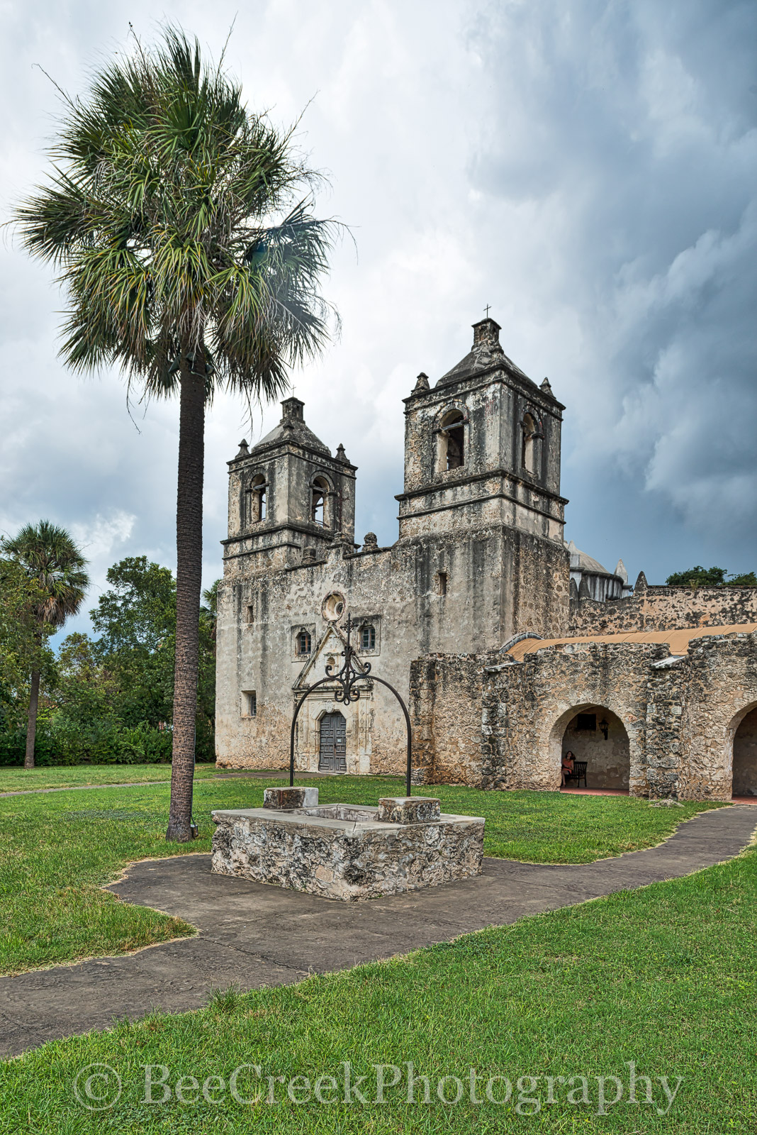 Battle of Concepcion, Mission ConcepciÛn, National Historic Landmarks, San Antonio, downtown, historic, indians, landmark, mexicans, spanish missions, texas missions, texians, world heritage site, photo
