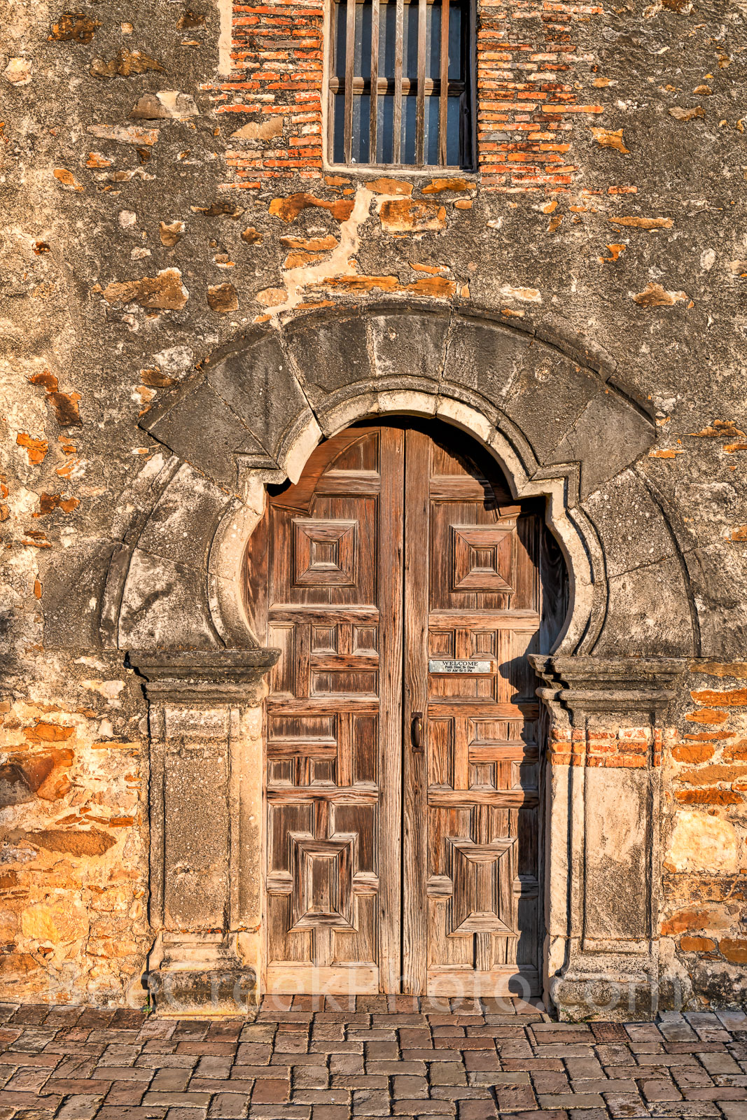 Mission Espada, San Antonio National Historical park, door, stone work, carpentry, blacksmith, texas missions, texas history, texas landmarks, landmarks,, photo