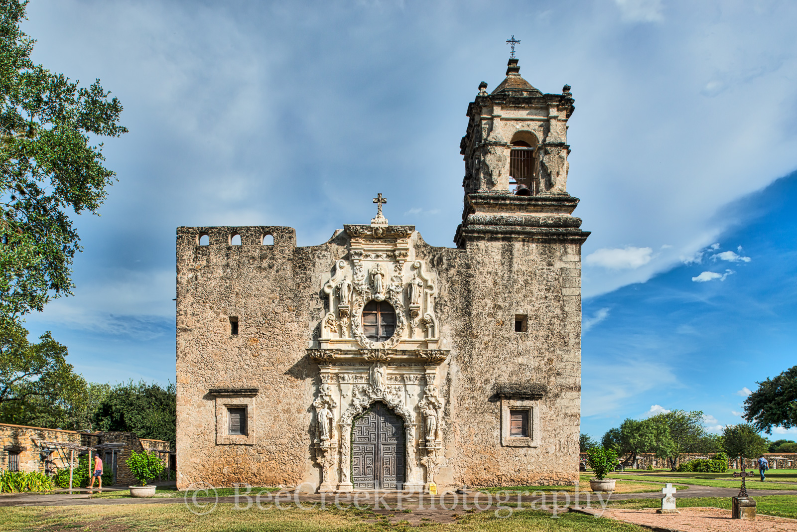 Mission San Jose, National Historic Landmarks, San Antonio, color, destinations, downtown, historic, indians, landmark, mexicans, spanish missions, texas missions, texians, tourist, tours, travel, wor, photo