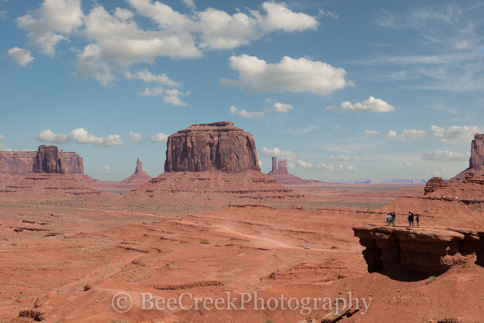 Grand View of Monument Valley -Grand view ofMonument Valley in Arizona