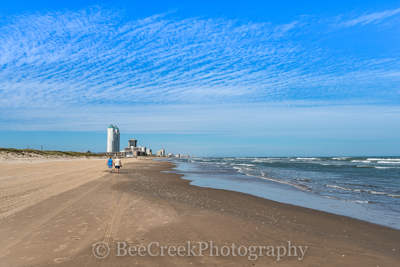 South Padre Island, Texas beach, beach, coastal, dunes, hotels, landscape, landscapes, ocean, sand, sand castles, sea shore, summer fun, surf, swimming, texas, water, wind surfing, photo