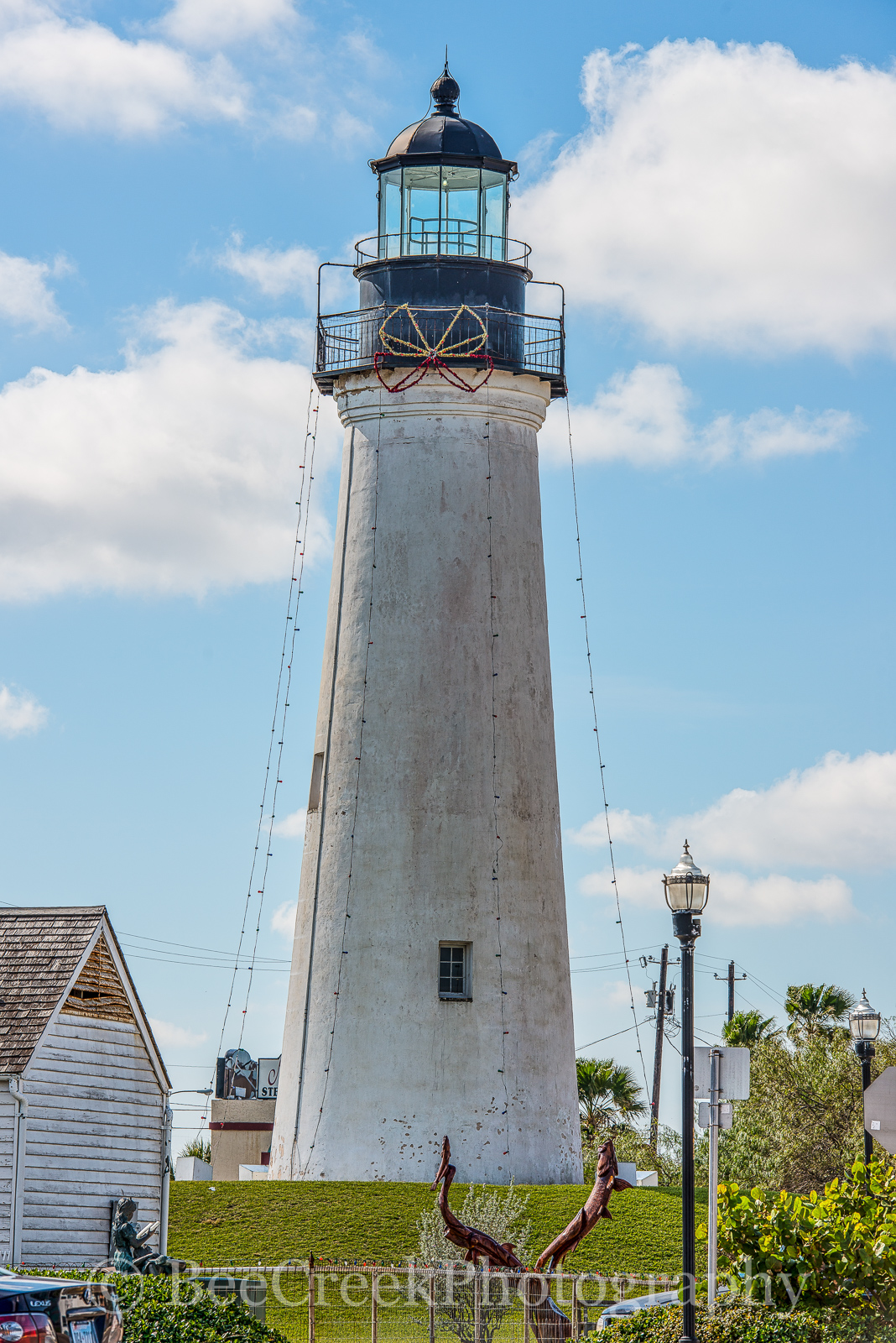 Port Isabel Light House - We capture this of the Port Isabells Light House at Christmas time along the Texas coast....