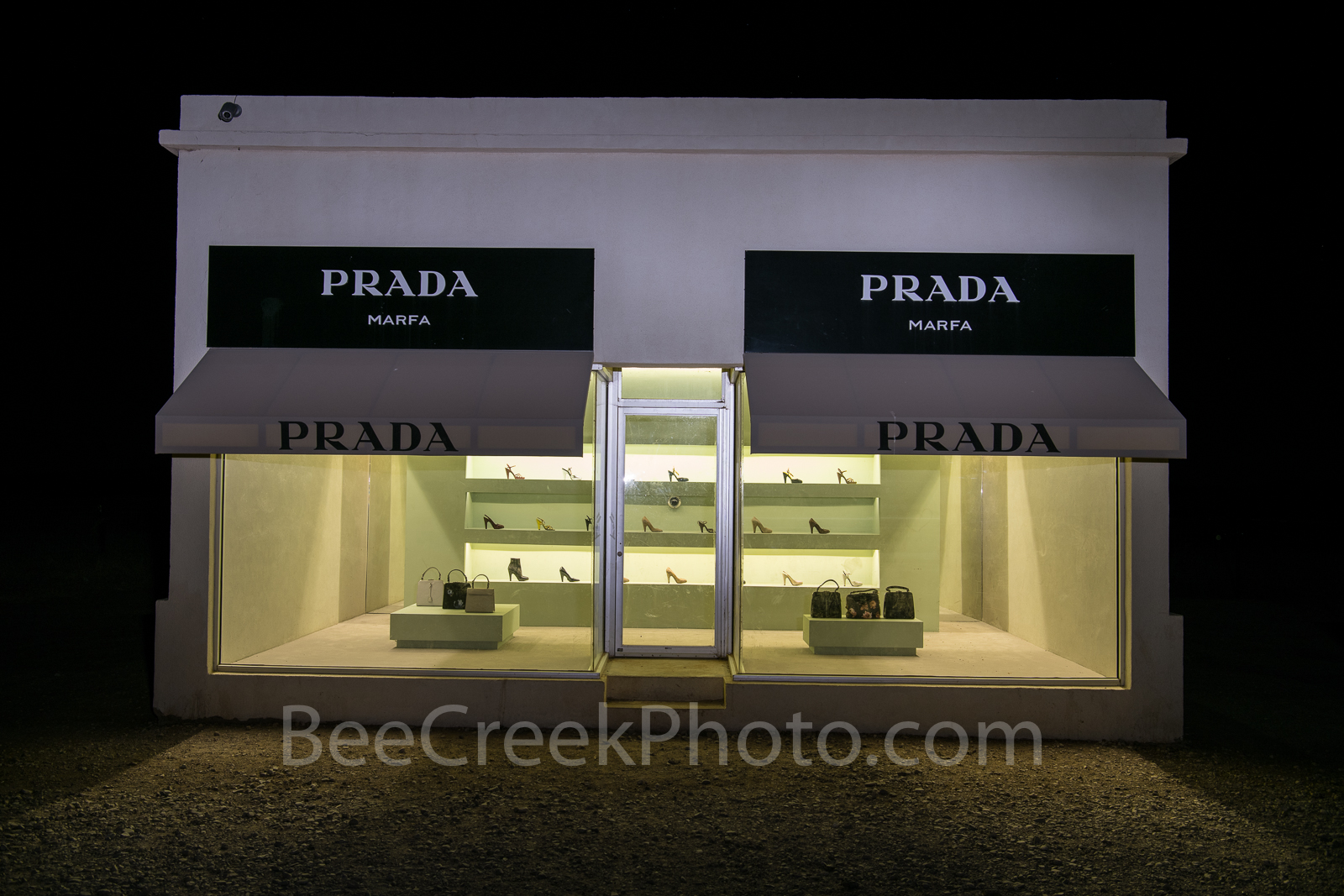 Prada Marfa, Valentine Texas,  museum, art display, Elmgreen and Dragset, artist, west texas, , photo