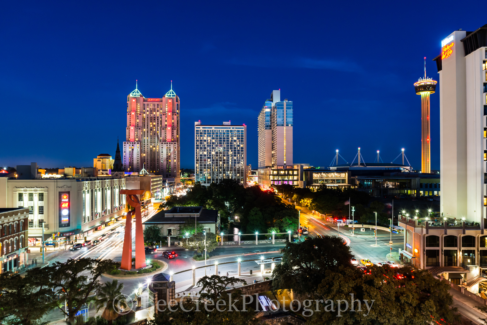 Grand Hyatt, Hilton, Marriott, San Antonio, Tod Grubbs, Torch or Friendship, Tower of Americas, beecreekphotography, city, cityscape, cityscapes, destination, downtown, night, riiverwalk, skyline, sky, photo
