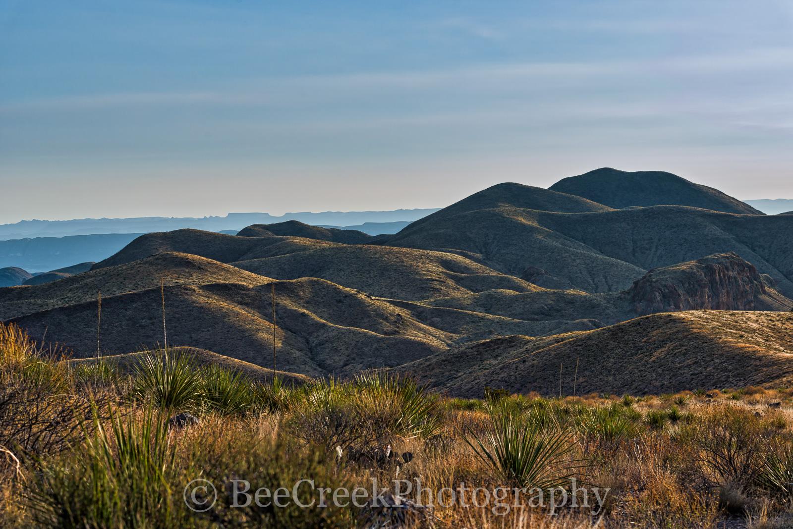 Big Bend National Park, Sotal Vista Overlook, late afternoon, photo