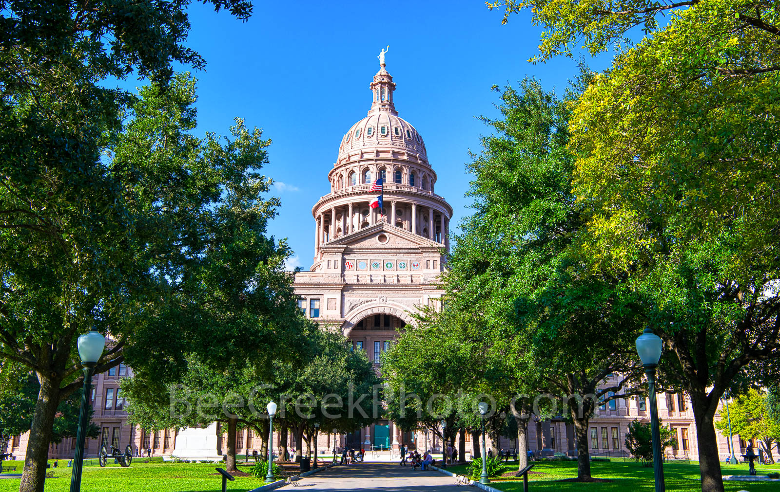 Capitol, Capital, Texas, building, Austin, south view, Congress ave., Capitol of Texas, Dome, red granite, renaissance rivival, architecture, state capital, state capitol, images of texas, photo