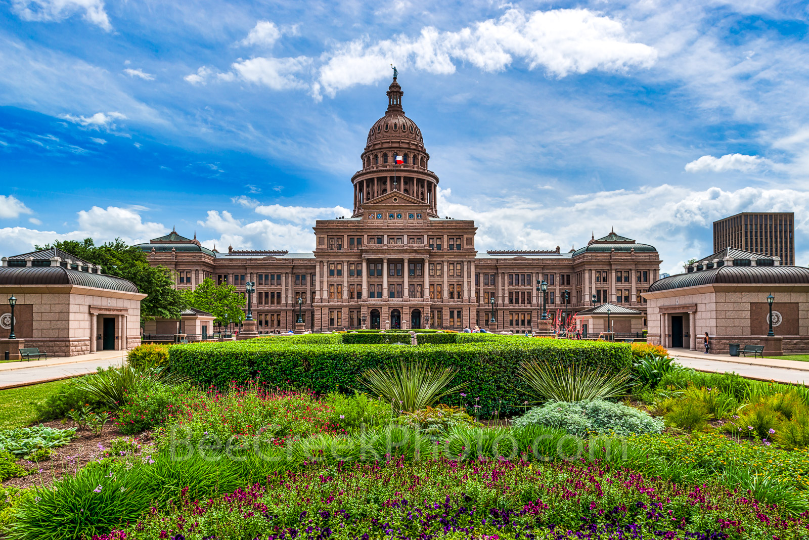 Austin, Texas State Capitol, day, garden, landscape, fine art, cityscape, downtown, city, State Capitol building, Texas State Capitol, state Capital, Capitol of Texas, tourist, history, historic, tree, photo
