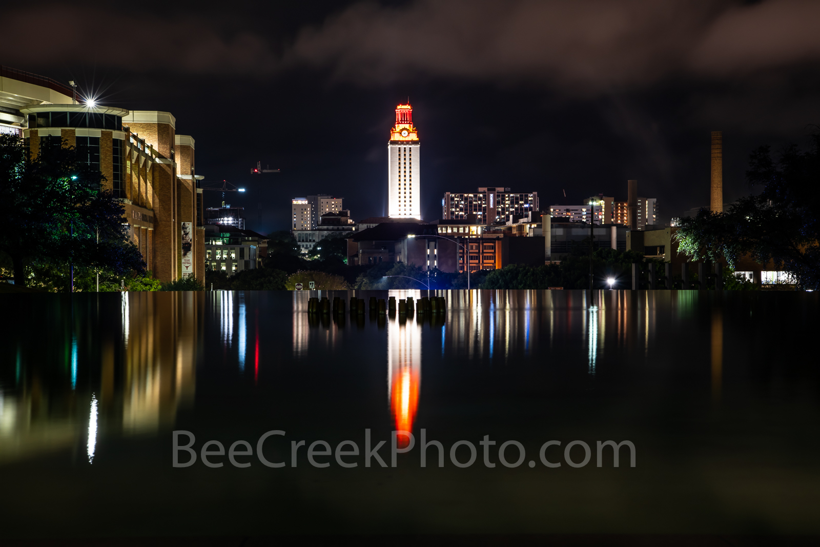 Austin, UT, University of Texas, tower, campus. building, orange, burnt, wins, game, stadium, UT tower, stadium, landmark, images of austin, images of texas,, photo