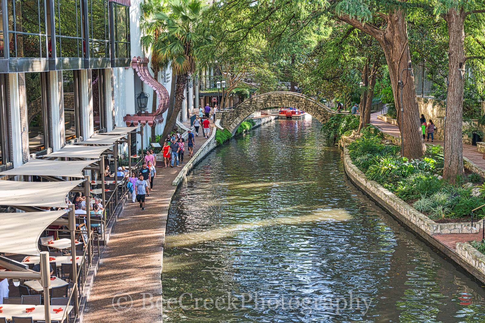 San Antonio, riverwalk, day, hilton, cityscape, downtown,  , photo