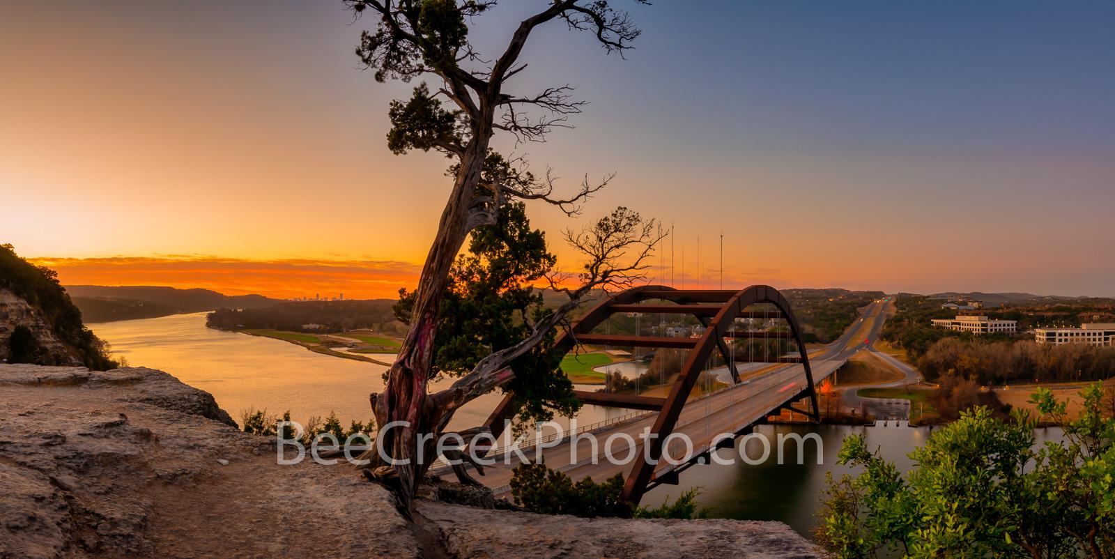 Texas,  Austin 360 Bridge,  Austin texas, pano, panorama, Pennybacker Bridge, Lake Austin, austin skyline, downtown austin, city of austin, pictures of austin, , photo